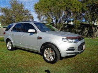 2012 Ford Territory SZ TS Seq Sport Shift Silver 6 Speed Sports Automatic Wagon
