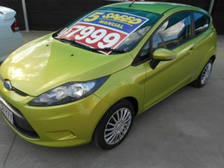 2009 Ford Fiesta WS CL Green 5 Speed Manual Hatchback.