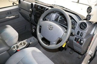 2014 Toyota Landcruiser VDJ79R MY12 Update GXL (4x4) Silver 5 Speed Manual Double Cab Chassis