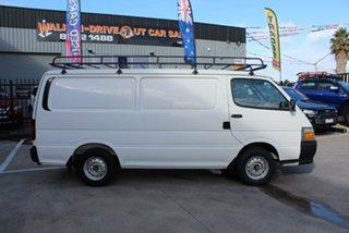 2002 Toyota HiAce RZH113R White 4 Speed Automatic Long Van