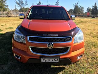 2015 Holden Colorado RG LTZ Orange Manual.