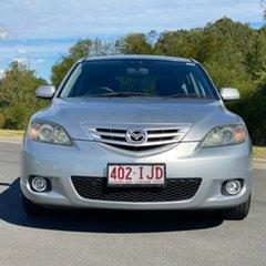 2004 Mazda 3 BK1031 SP23 Silver 4 Speed Sports Automatic Hatchback.