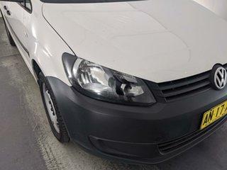 2014 Volkswagen Caddy 2KN MY15 TDI320 Maxi DSG White 6 Speed Sports Automatic Dual Clutch Van.