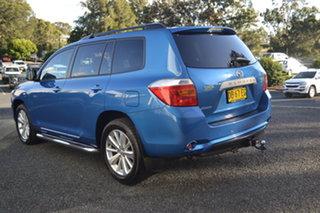 2010 Toyota Kluger GSU40R Altitude 2WD Blue 5 Speed Sports Automatic Wagon