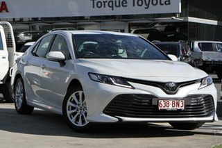 2019 Toyota Camry ASV70R Ascent Frosted White 6 Speed Sports Automatic Sedan.
