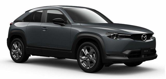 Demo Mazda MX-30 DR2W7A G20e SKYACTIV-Drive Evolve Mornington, 2021 Mazda MX-30 DR2W7A G20e SKYACTIV-Drive Evolve Polymetal Grey 6 Speed Sports Automatic Wagon