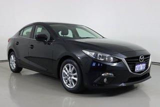 2015 Mazda 3 BM Touring Black 6 Speed Manual Sedan.