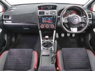 2016 Subaru WRX MY16 STI (AWD) Red 6 Speed Manual Sedan
