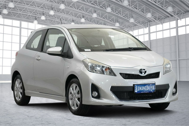 Used Toyota Yaris NCP131R ZR Victoria Park, 2011 Toyota Yaris NCP131R ZR Silver 5 Speed Manual Hatchback