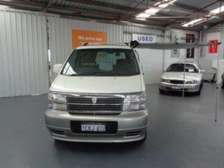 2000 Nissan Elgrand ALE50 V White 4 Speed Automatic Wagon.