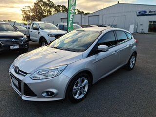 2014 Ford Focus LW MkII Trend PwrShift Ingot Silver 6 Speed Sports Automatic Dual Clutch Hatchback.