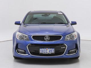 2016 Holden Commodore VF II SS-V Redline Slipstream Blue 6 Speed Automatic Sedan.