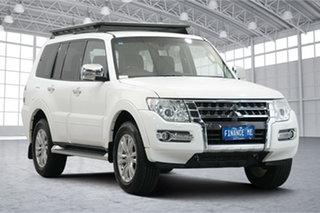 2017 Mitsubishi Pajero NX MY17 GLS White 5 Speed Sports Automatic Wagon.