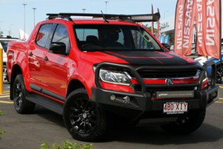 2017 Holden Colorado RG MY17 Z71 Pickup Crew Cab Red 6 Speed Manual Utility.