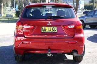 2011 Mitsubishi ASX XA MY11 2WD Red 6 Speed Constant Variable Wagon