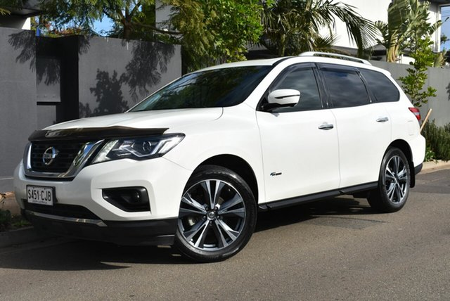 Used Nissan Pathfinder R52 Series II MY17 Ti X-tronic 4WD Brighton, 2017 Nissan Pathfinder R52 Series II MY17 Ti X-tronic 4WD Pearl White 1 Speed Constant Variable