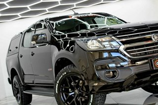 2017 Holden Colorado RG MY18 LS (4x4) Black 6 Speed Automatic Crew Cab Chassis.