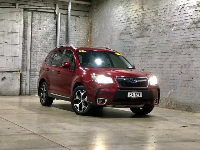 Used Subaru Forester S4 MY15 XT CVT AWD Premium Mile End South, 2015 Subaru Forester S4 MY15 XT CVT AWD Premium Maroon 8 Speed Constant Variable Wagon