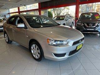 2013 Mitsubishi Lancer CJ MY13 ES Sportback Silver 6 Speed Constant Variable Hatchback.