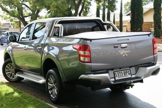 2017 Mitsubishi Triton MQ MY17 GLS Double Cab Grey 5 Speed Sports Automatic Utility.