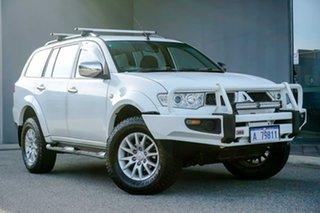2011 Mitsubishi Challenger PB (KH) MY11 LS White 5 Speed Sports Automatic Wagon.