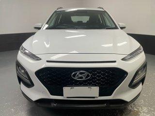 2018 Hyundai Kona OS MY18 Active 2WD White 6 Speed Sports Automatic Wagon.