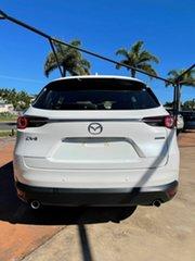 2021 Mazda CX-8 D Sport White 6 Speed Automatic Wagon