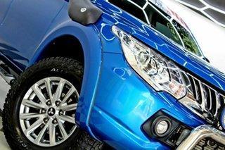 2015 Mitsubishi Triton MQ MY16 GLS (4x4) Blue 5 Speed Automatic Dual Cab Utility.