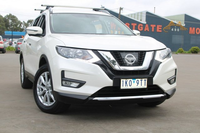 Used Nissan X-Trail T32 Series 2 ST-L (2WD) West Footscray, 2017 Nissan X-Trail T32 Series 2 ST-L (2WD) White Continuous Variable Wagon