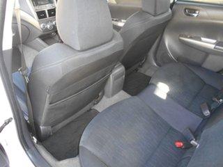 2007 Subaru Impreza G3 MY08 R AWD White 5 Speed Manual Hatchback