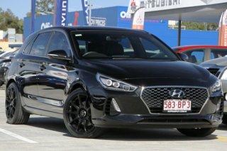 2018 Hyundai i30 PD2 MY18 SR D-CT Premium Black 7 Speed Sports Automatic Dual Clutch Hatchback.