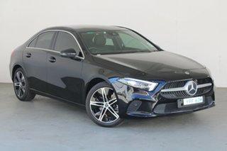 2018 Mercedes-Benz A-Class V177 A200 DCT Black 7 Speed Sports Automatic Dual Clutch Sedan.