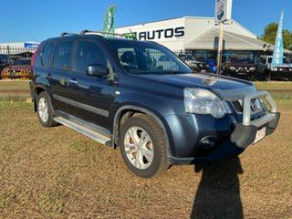 2013 Nissan X-Trail T31 Series V ST-L 2WD Blue 1 Speed Constant Variable Wagon.