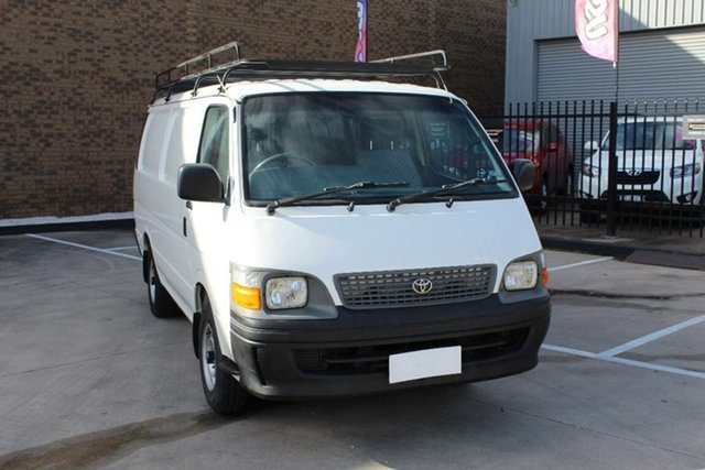 Used Toyota HiAce RZH113R Hoppers Crossing, 2002 Toyota HiAce RZH113R White 4 Speed Automatic Long Van
