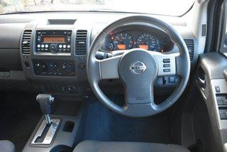 2008 Nissan Navara D40 ST-X Red 5 Speed Automatic Utility