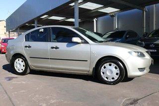 2004 Mazda 3 BK10F1 Neo Silver 4 Speed Sports Automatic Sedan.