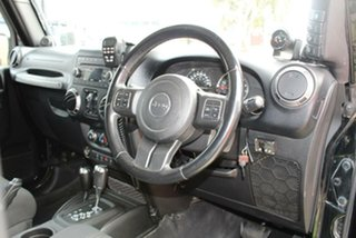2012 Jeep Wrangler Unlimited JK MY12 Sport (4x4) Black 5 Speed Automatic Softtop