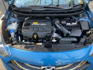 2013 Hyundai i30 GD Elite Tourer Blue 6 Speed Sports Automatic Wagon.