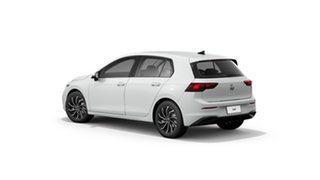 2021 Volkswagen Golf 8 MY21 110TSI Life Pure White 8 Speed Sports Automatic Hatchback.