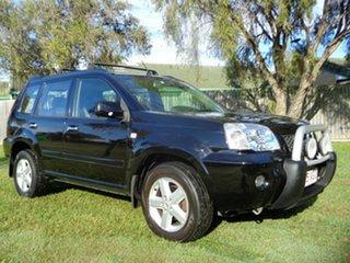 2005 Nissan X-Trail T30 II TI Black 4 Speed Automatic Wagon.
