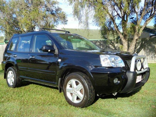 Used Nissan X-Trail T30 II TI Kippa-Ring, 2005 Nissan X-Trail T30 II TI Black 4 Speed Automatic Wagon