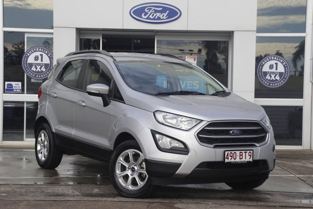 Used Ford Ecosport BL Trend Beaudesert, 2017 Ford Ecosport BL Trend Moondust Silver 6 Speed Automatic Wagon