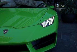 2019 Lamborghini Huracan 724 LP580-2 Verde Mantis 7 Speed Sports Automatic Dual Clutch Coupe