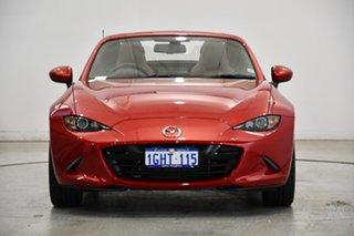 2017 Mazda MX-5 ND GT SKYACTIV-MT Red 6 Speed Manual Roadster.