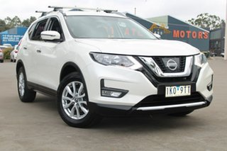 2017 Nissan X-Trail T32 Series 2 ST-L (2WD) White Continuous Variable Wagon.