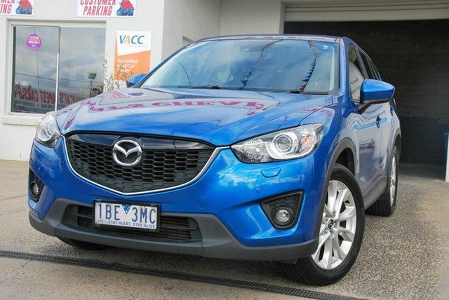 Used Mazda CX-5 MY13 Akera (4x4) Wendouree, 2013 Mazda CX-5 MY13 Akera (4x4) Blue 6 Speed Automatic Wagon