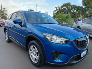2012 Mazda CX-5 KE1071 Maxx SKYACTIV-Drive Blue 6 Speed Sports Automatic Wagon