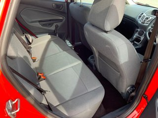 2011 Ford Fiesta WT CL Red 6 Speed Automatic Hatchback
