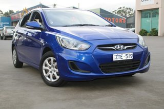 2013 Hyundai Accent RB Active 4 Speed Automatic Hatchback.