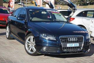 2011 Audi A4 B8 8K MY11 S Tronic Quattro Blue 7 Speed Sports Automatic Dual Clutch Sedan.